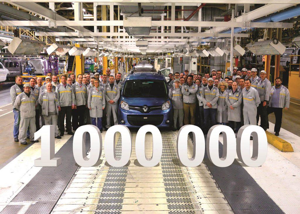 1-Renault-Miljoenste-Kangoo