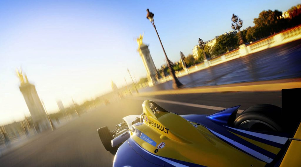 RENAULT, PARTNER OF THE PARIS ePRIX
